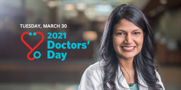 Tuesday March 30, Doctors' Day 2021