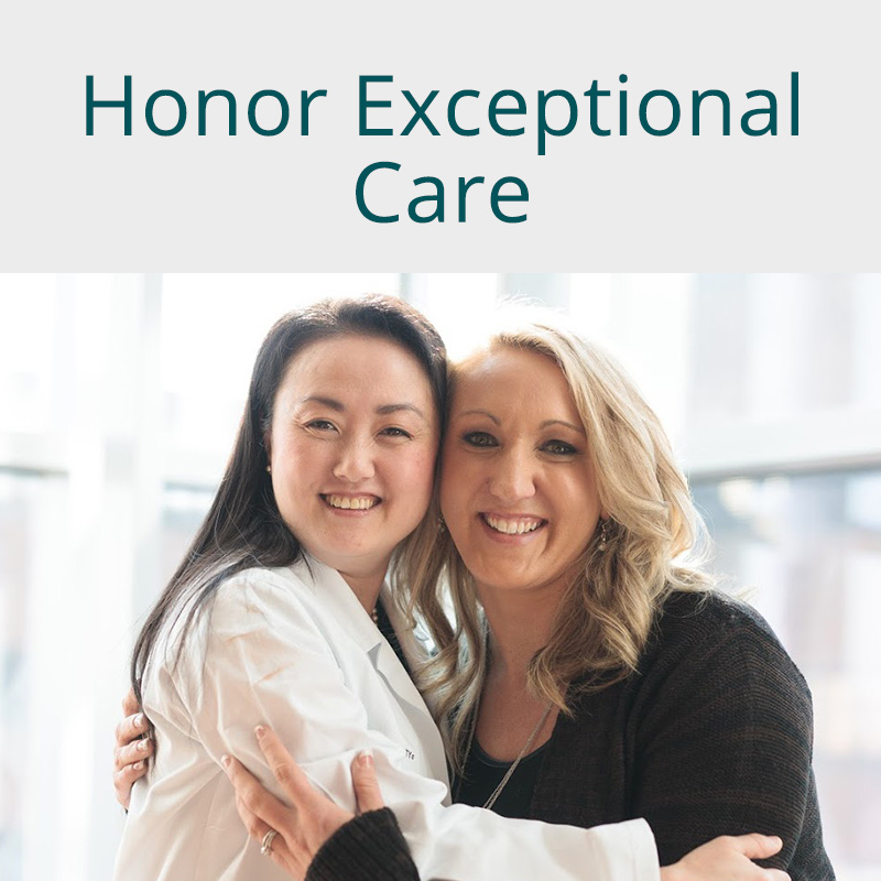 Honor Exceptional Care