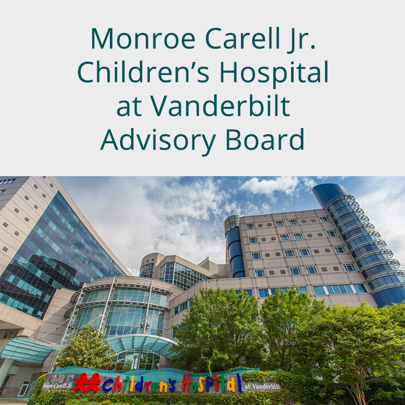 Monroe Carell Jr. Children's Hospital at Vanderbilt Board of Overseers