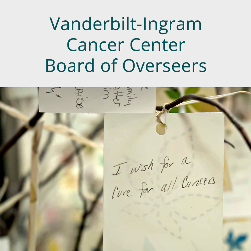 Vanderbilt-Ingram Cancer Center Board of Overseers